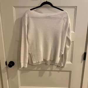 White Ralph Lauren sweater.